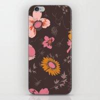 Large Flowers iPhone & iPod Skin