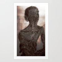 Receptive Art Print
