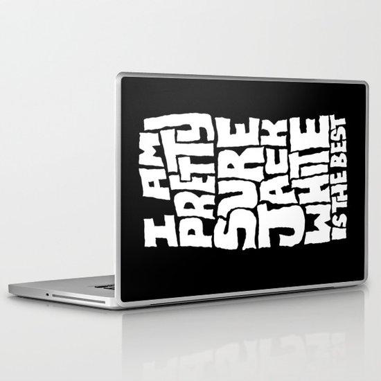 Jack White Laptop & iPad Skin