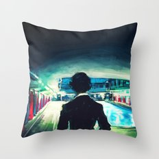 The Pool Throw Pillow
