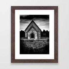 No Trespassing! Framed Art Print