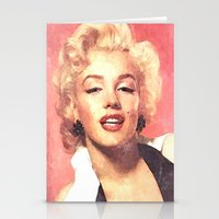 Marilyn Monroe 3 Stationery Cards