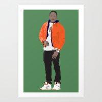 GUSTAVO FRING MODERN OUT… Art Print