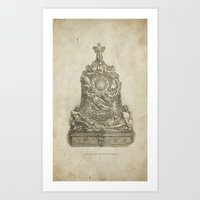 CLOCK-CASE Art Print