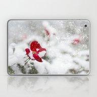 Merry Christmas I Laptop & iPad Skin