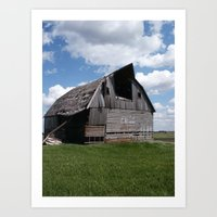 Abandoned Barn #7 Art Print