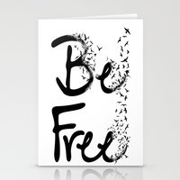 BE FREE Stationery Cards