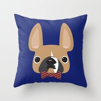 This Is Brix Throw Pillow