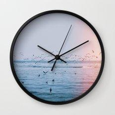 Ocean Birds Wall Clock