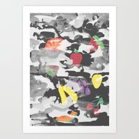 Summer Fruit  Art Print