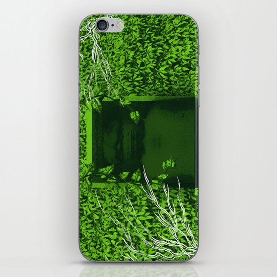 """Overgrown"" by Justin Hopkins iPhone & iPod Skin"