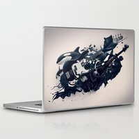 guitar Laptop & iPad Skins featuring guitar by Tanya_tk
