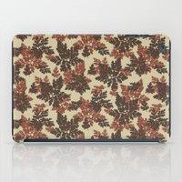 Raccoon Lake - Red iPad Case