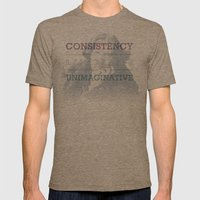 Last Refuge Mens Fitted Tee Tri-Coffee SMALL