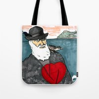 A Darwinian Heart Tote Bag
