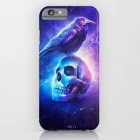 iPhone & iPod Case featuring Le Corbeau by Falcon White