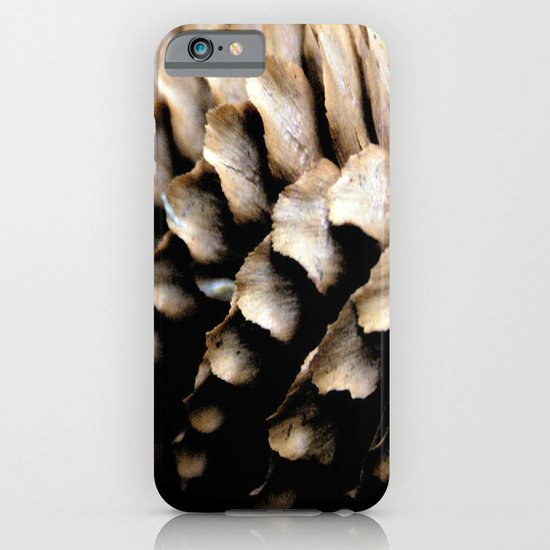 Fir Cone macro iPhone & iPod Case