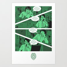 Have You Tried Turning It Off And On Again? Art Print