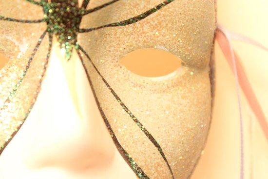 butterfly mask Art Print