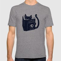 World Domination For Cat… Mens Fitted Tee Tri-Grey SMALL