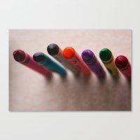 Color Line Canvas Print