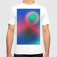 Electric I Mens Fitted Tee White SMALL