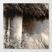 Reign In The Woods Canvas Print