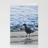 Going for a swim Stationery Cards