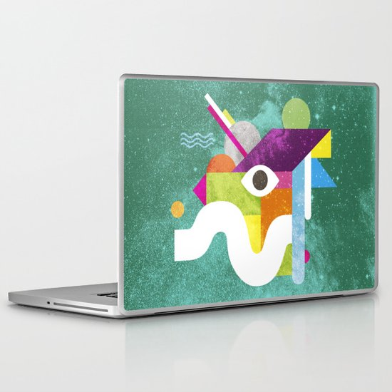 Mythical Float Rate. Laptop & iPad Skin