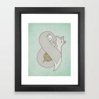 Catpersand Framed Art Print