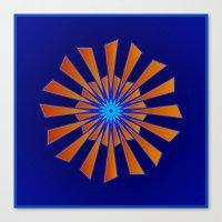 Spring Blue Canvas Print
