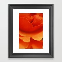Velvet Framed Art Print