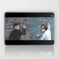 Laptop & iPad Skin featuring PACIFIC RIM - Blackboard… by Kristal Babich