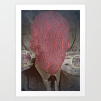Head Trauma Art Print