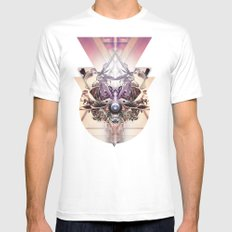 Vanguard mkvi White SMALL Mens Fitted Tee