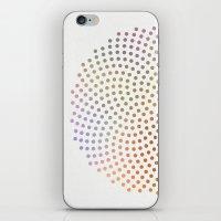Spiral Dots iPhone & iPod Skin