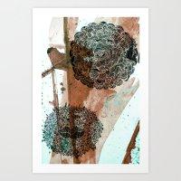 Who am I Art Print