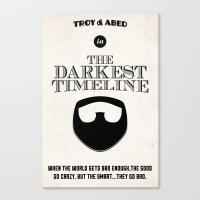Community - The Darkest … Canvas Print