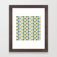 Pattern16 Framed Art Print