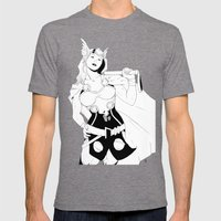 Tarene (Thor Girl) Mens Fitted Tee Tri-Grey SMALL