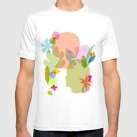 Botany Mens Fitted Tee White SMALL