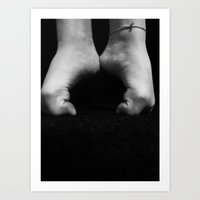 Dance feet Art Print