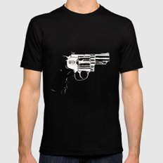 Gun #27 Mens Fitted Tee SMALL Black