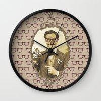Monsieur Skull Wall Clock