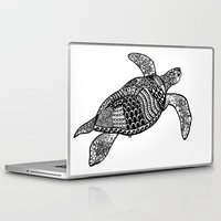 turtle Laptop & iPad Skins featuring Turtle by Sophie H.