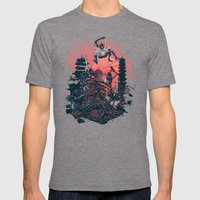 The Showdown Mens Fitted Tee Tri-Grey SMALL