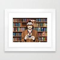 Richie Tenenbaum Framed Art Print