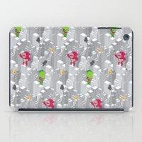 Cute disaster pattern iPad Case