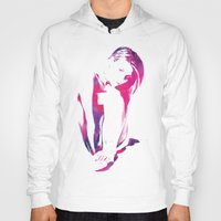 Hoody featuring Untitled 001 by Fimbis