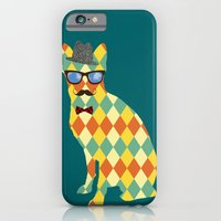 iPhone & iPod Case featuring Argyle Terrier  by David Andrew Sussman